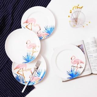 Тарелка белая с Вашим Дизайном
