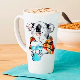 Кружка кофейная / высокая с Вашим дизайном