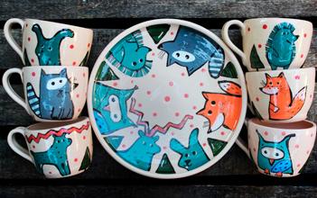 Коллекции посуды